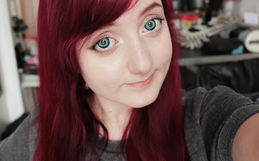 Blaue Kontaktlinsen