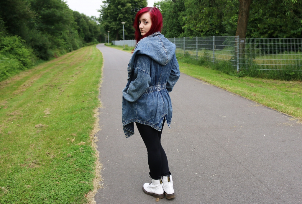 Jeansjacke Binden 4 Outer Space Style