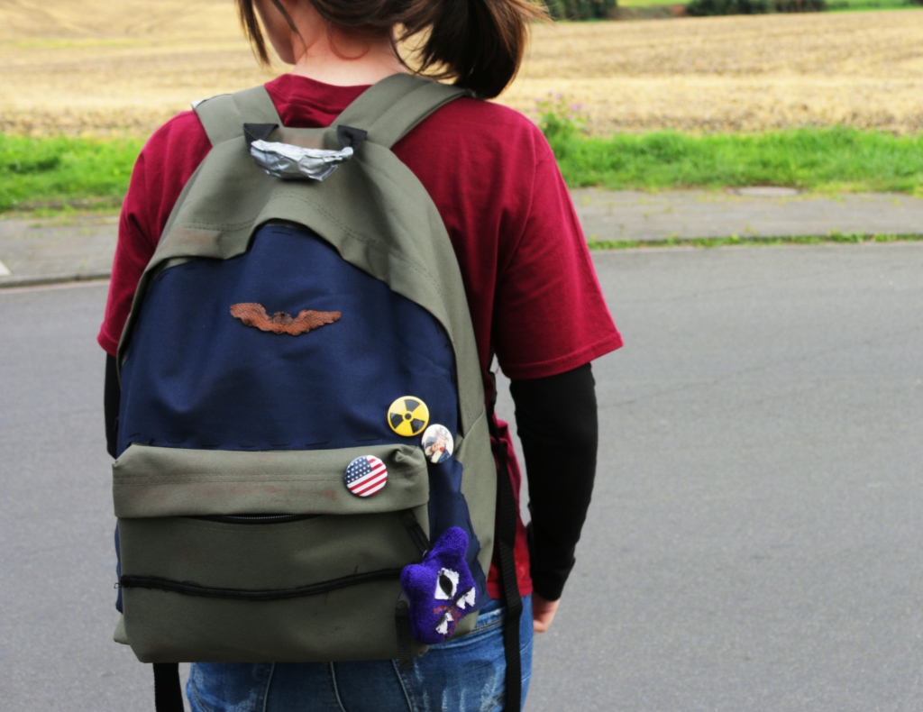 Outer Space Style Gamescom day 3 and 4 Ellie the last of us backpack