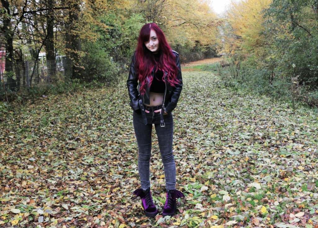 Outerspacestyle velvet winter outfit 2 outer space style for Outer space outfit