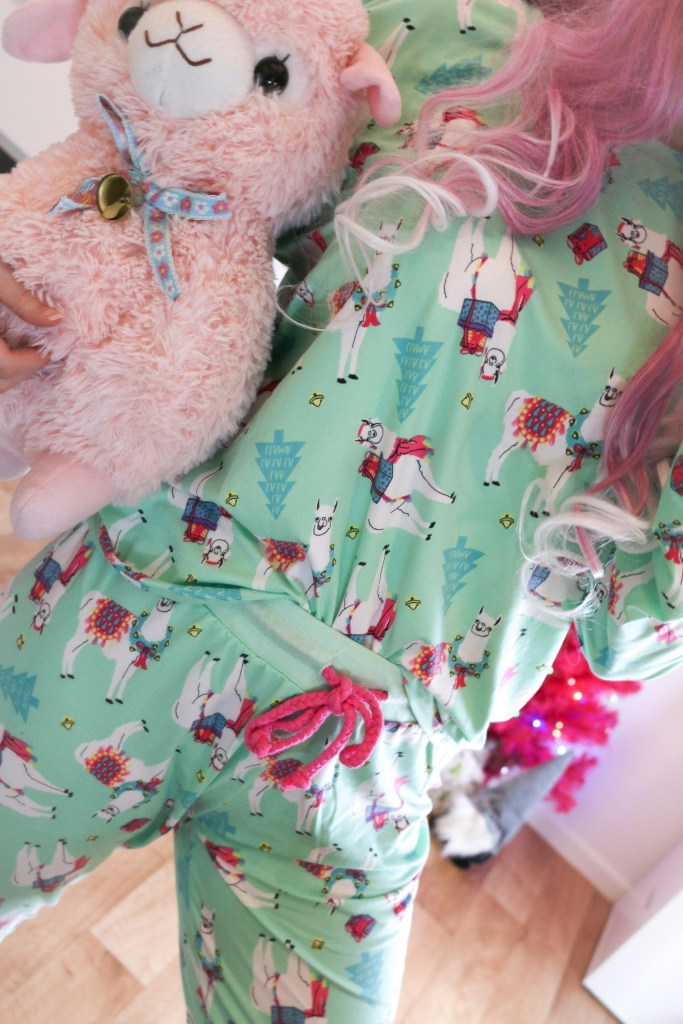 Outerspacestyle Lama Pyjama