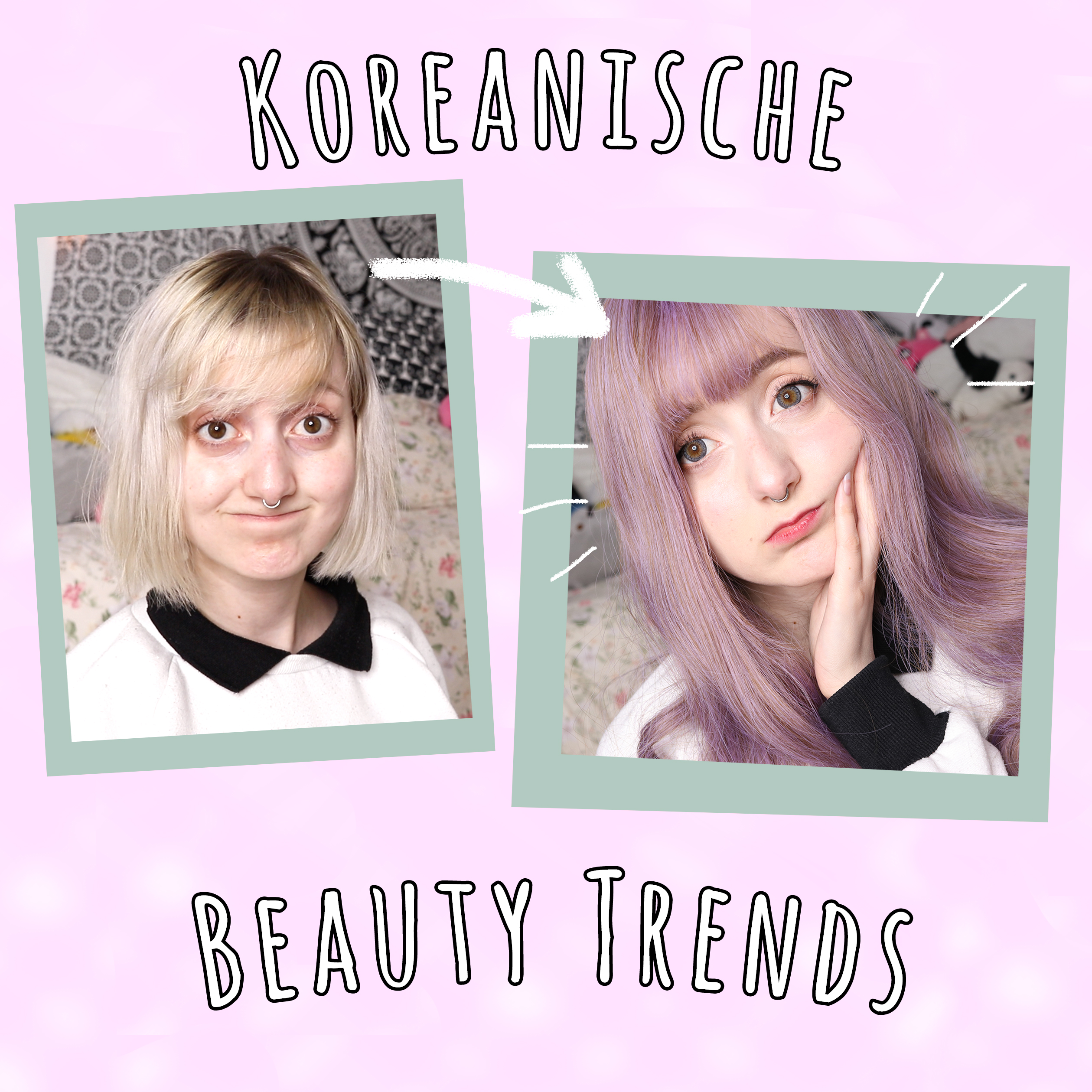 Ich probiere koreanische Make Up Trends aus
