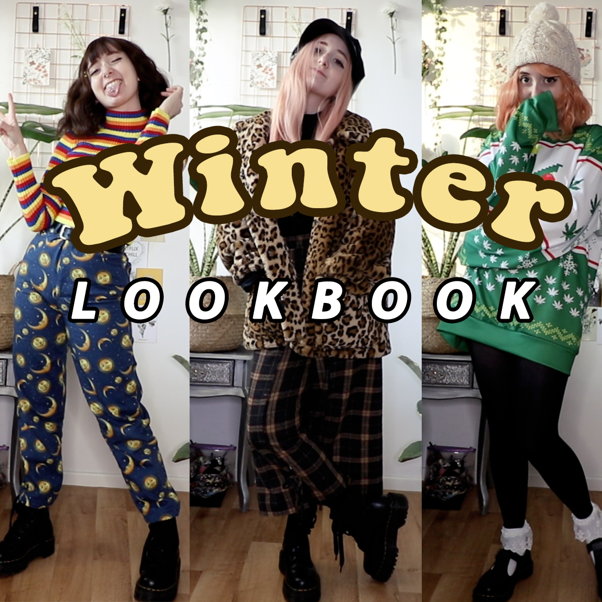 winter lookbook kawaii